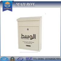 Yoobox high-quality cast iron mail box and post box stainless postbox antique