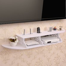 Creative idyllic wall TV cabinet set-top box frame router Storage Holders