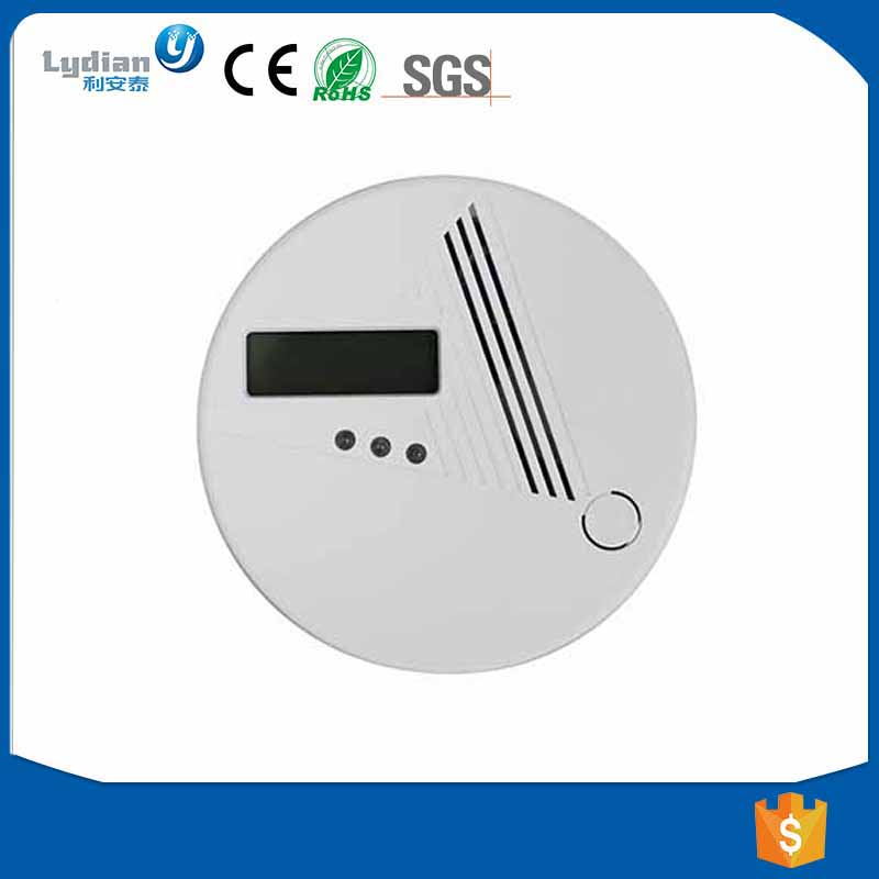 Household Battery Operated Carbon Monoxide Detector CO Detector Alarm with EN50291 , co detector LYD-808
