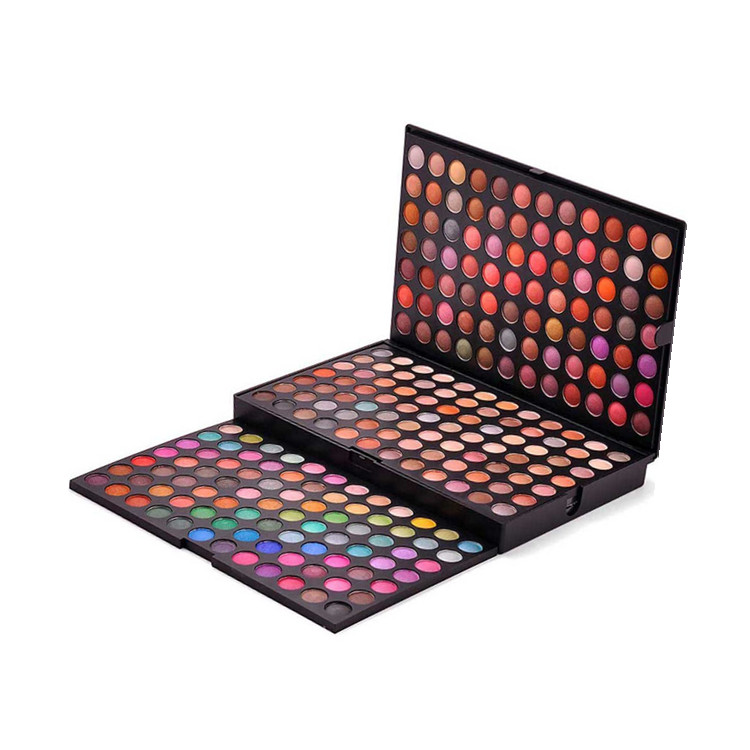 Pro Create Your Own Brand Eye Shadow Oem 252 Color Eyeshadow Palette