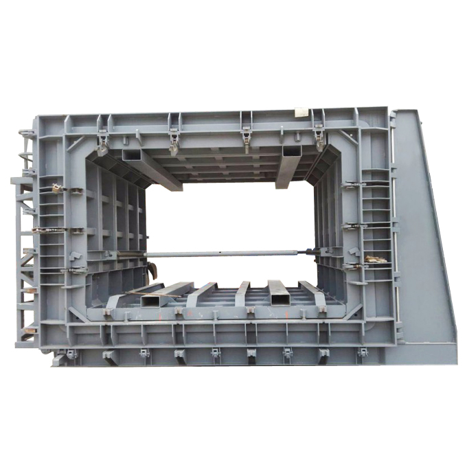 Pracetak Beton Gorong-gorong persegi Kotak Cetakan\/Cetakan-Mesin Pembuat Pipa-ID produk
