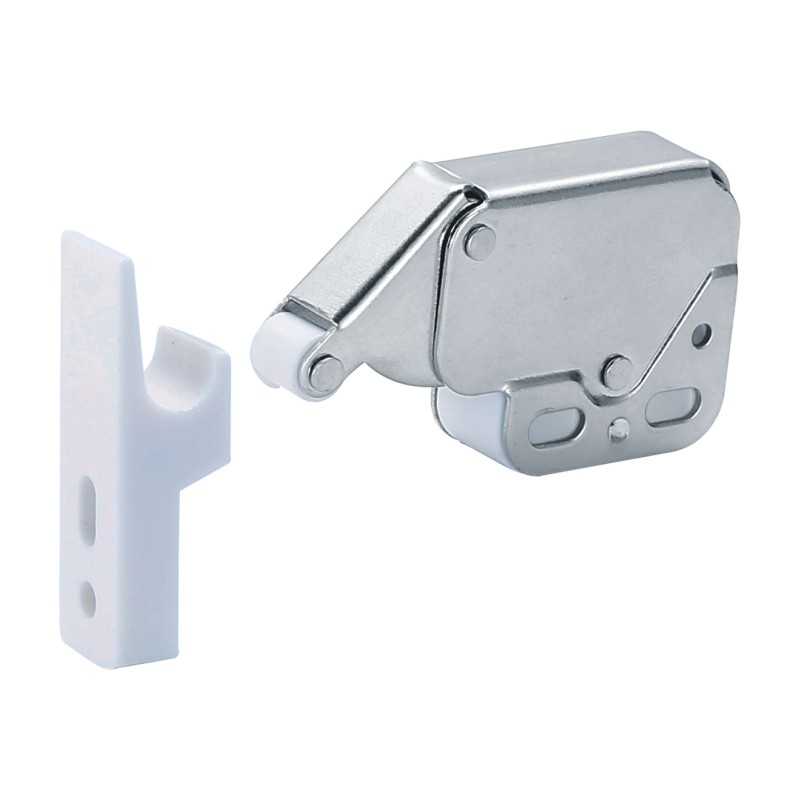 Push To Open Type Plastic Door Catch Latch With Spring Fitting For  Furniture Cabinet Door - Buy Click Lock Forniture,Mini Touch Latch,Small  Push Open