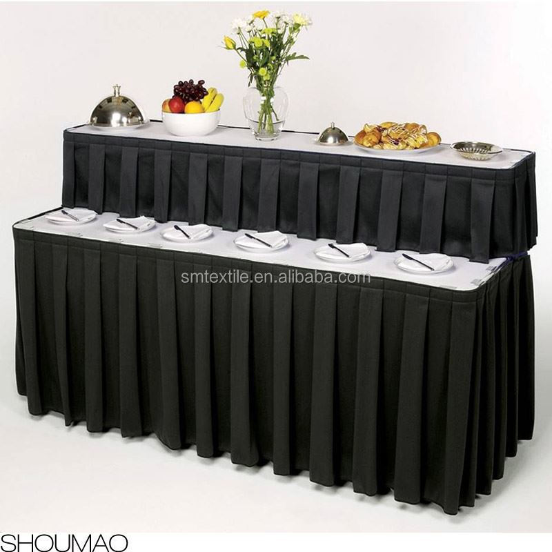 Wholesale Poly Table Skirting Designs For Wedding Buy