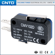 CNTD China Products Short Shank Type Mini Automatic Micro Pressure Switches
