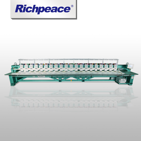 Richpeace Computerized Large Scale Flat Embroidery Machine