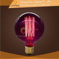 Purple Finish vintage pendant lamp for edison bulb