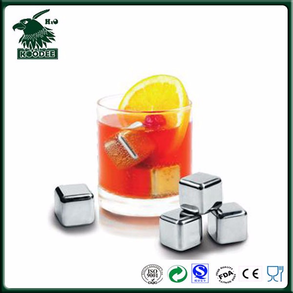 Stainless Steel Whisky Stones Whiskey Ice Cubes Whisky Ice Rocks