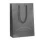 embossing logo printed paper bag boutique, high quality paper shopping bag