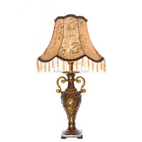 Home Decor Vintage Style Antique Table Lamp With Edison Bulb for study room living room