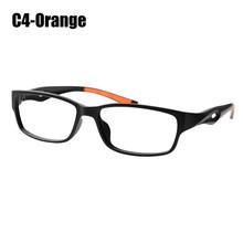 SOOLALA TR90, очки для чтения, спортивный стиль, легкие прозрачные линзы, очки по рецепту, оправа для женщин и мужчин, очки для чтения + от 0,5 до 4,0(Китай)