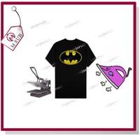 A4 Dark Inkjet Cotton T-shirt Heat Tranfer Sheets Paper