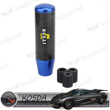 jdm blue carbon fiber dildo gear shift knob shifter for car interior accessories