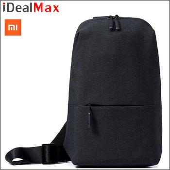 cfe9d7cafa2be Orijinal Xiaomi Sırt Çantası Mi Şehir tek kollu çanta Eğlence Göğüs Paketi  Küçük Boy Omuz Tipi