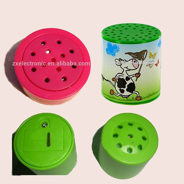 Recordable und Aufnahme Animal Sound Box Sprachmodul für Puppe New Design Products