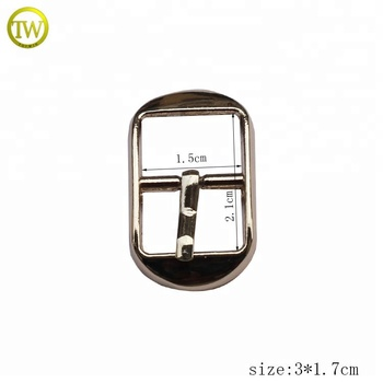 Nickle free Gold Pin Roller Buckles Ladies Shoes Metal Clip Buckle