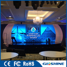 Gloshine Hot Sell LM3.91 Indoor Rental led screen price for Car Exhibition