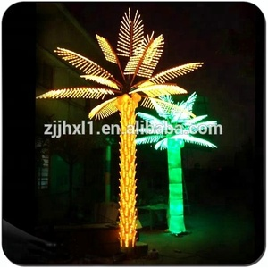 2018 Special Design Christmas LED Palm Tree Lights LED Outdoor Light Tree Christmas Palm Tree On Sale
