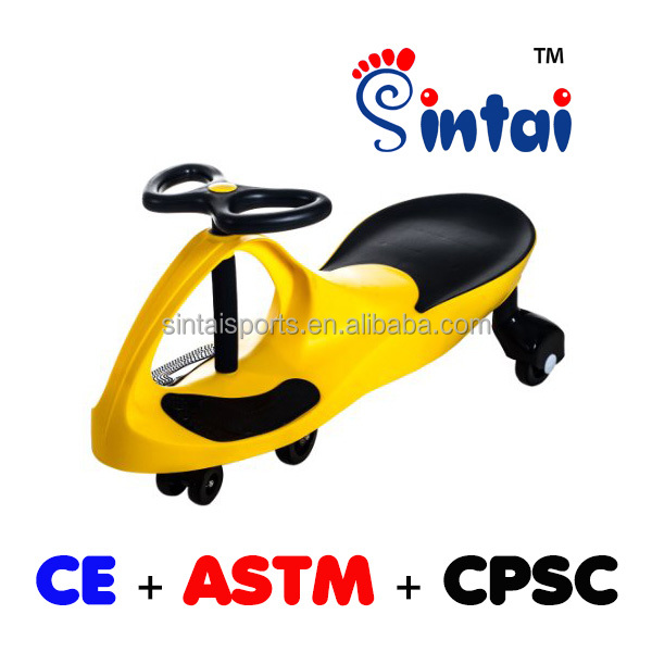 Sintai professional Kids PP and Iron material playing swing car