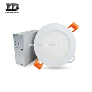 LED round panel light dimmable slim downlight for ceiling