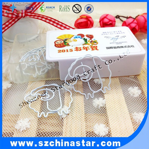 Germany paper clip sliding box package as high grade promotional gift clips