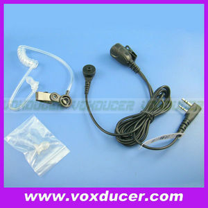 Acoustic Clear Air Tube Headset For Kenwood TK-3107 Wouxun KG-UVD1P Baofeng BF-666S 777S UV-5R Two Way Radio