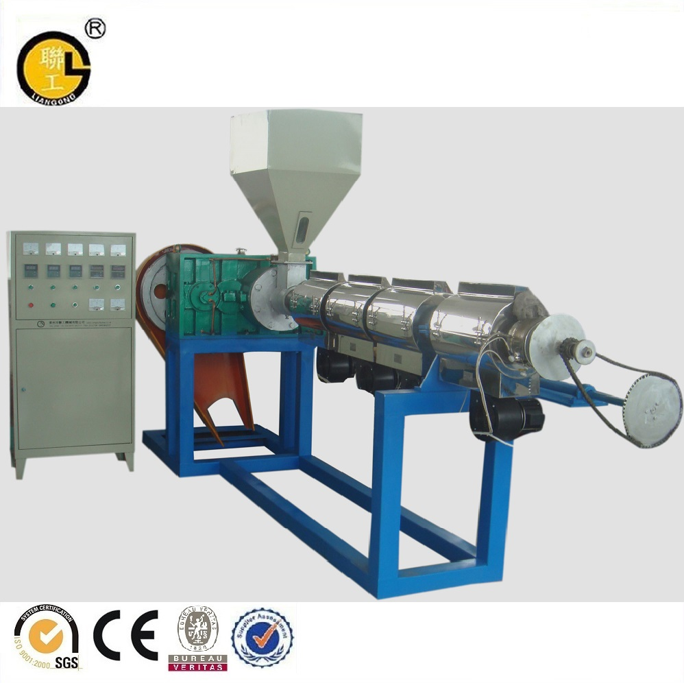 PVC recycling plastic granuleren machine