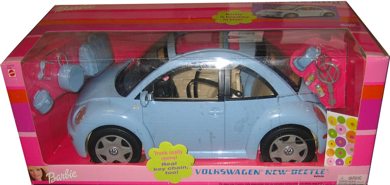 Barbie Volkswagen New Beetle In Light Blue Vw Bug