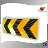Hazard marker T-Junction Chevron multiple chevron road sign solar powered