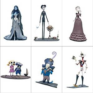 Corpse Bride Series 1 Action Figure Set of 6