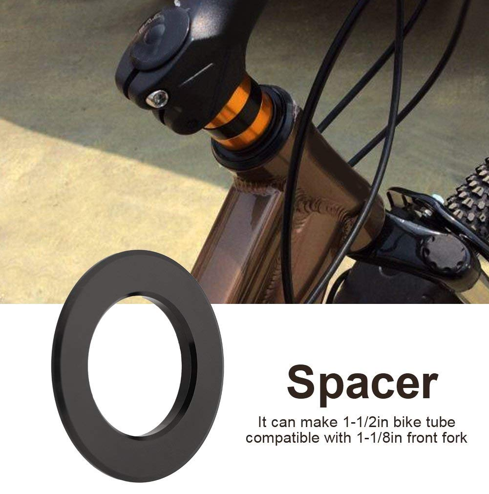 Carbon Fiber Bike Headset Spacer Bicycle Cycling Fork Stem Headset Spacer 1-1//8/""