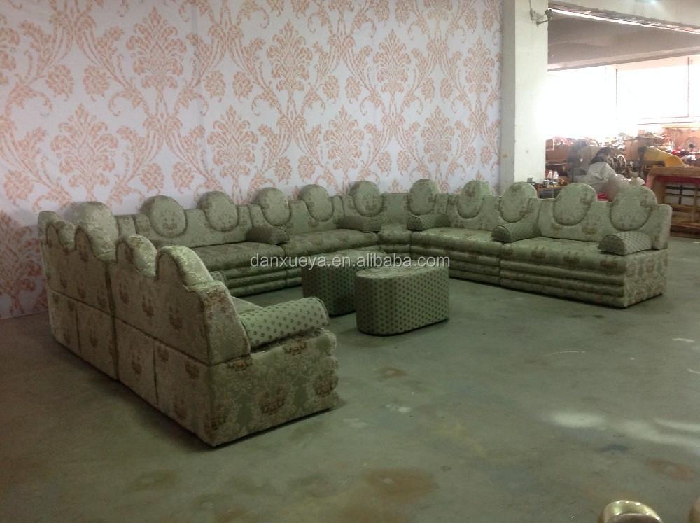 Large arabic style sofa floor cushion seating sofa arab for Buy floor sofa
