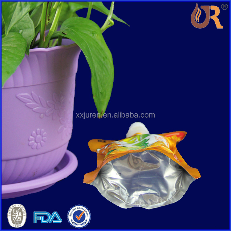 Packaging supplier zipper stand up pouch of kraft paper bag with clear window