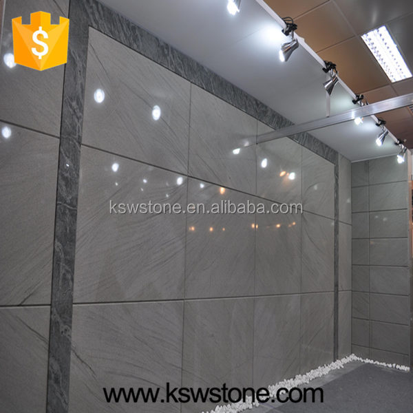 Moca grey sandstone tile slab for sale
