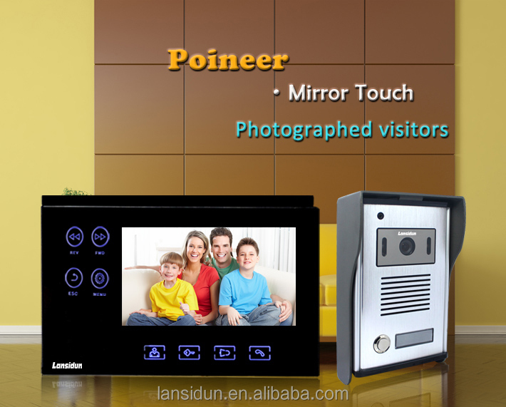 Video door phone with memory for villa