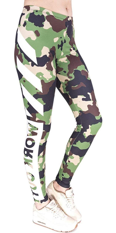 SmartPig Printed Leggings Basic Cheap Patterned Leggings Yoga Workout Leggings Women Girls Spandex Leggings L2