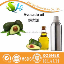 Top quality 100% natural oil essential hair oil pure avocado oil for hair growth