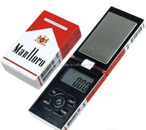 cigarette case design accurate weighing balance digital pocket jewelry scale 0.01g