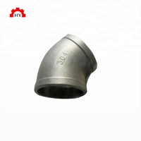 Good quality investment casting 3 inch 150lb stainless steel 316 threaded pipe fittings