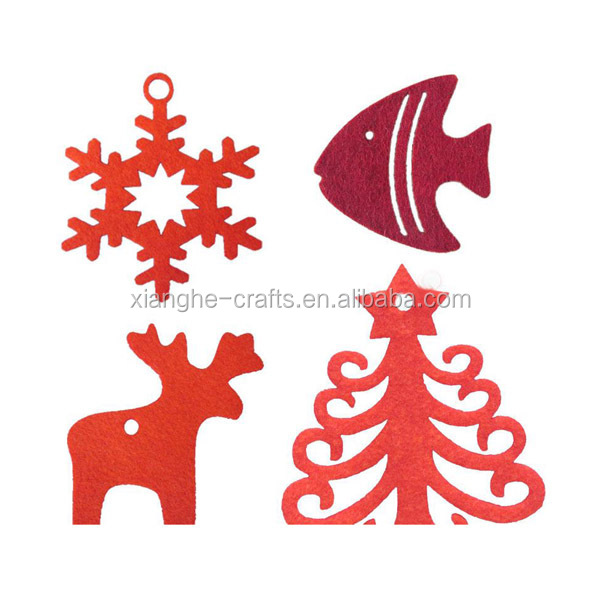2014 new arrival custom shape felt craft for Christmas Decoration