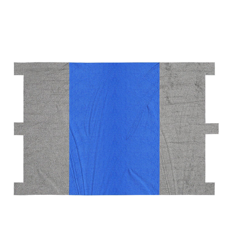 8b9da11cfc82 Get Quotations · ANCHEER Beach Blanket Picnic Blanket Oversized 7' X 9'  Outdoor Nylon Beach Mat Portable
