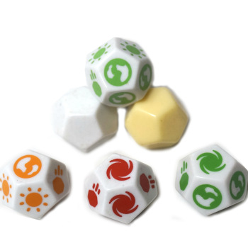 Bluk Dice Wholesale Custom Acrylic Printing 12 Sided Games Dice