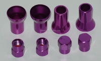 Green Purple Yellow Blue Red Color Sleeve Cover of Stem and Cap For TR413 TR414 Tire Valve