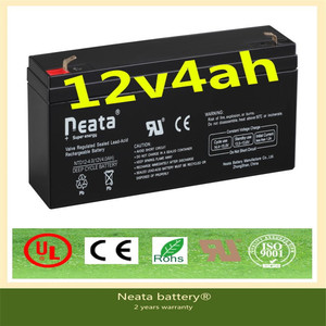 Neata Battery 12V Toy car battery/Lead acid battery/12v4ah UPS battery