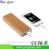 Christmas gift High capacity wooden power bank 8000mah portable battery charger for smartphone