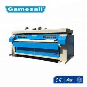 Laundry steam flat iron function used for clothes flatwork ironer