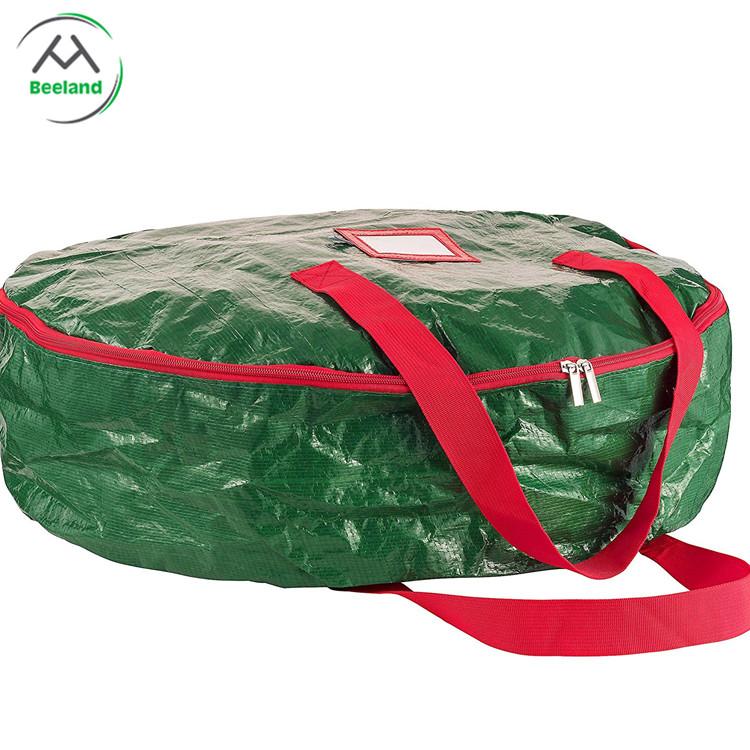 Factory Wholesale Round Christmas Wreath Storage Bag