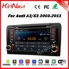 Kirinavi WC-AD7683 Android 5.1 car DVD GPS for audi a3 2003-2011 touch screen car stereo WIFI 3G Playstore
