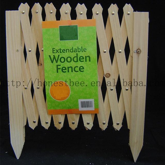mewmewcat Trellis Fence Set Expandable Wooden Garden Divider 250x100 cm FSC Impregnated Wood