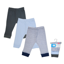 Luvable Friends Baby Boy Pants Cotton Boys Pants Knitted Toddler Girl Leggings Elastic Waist Pant Trousers