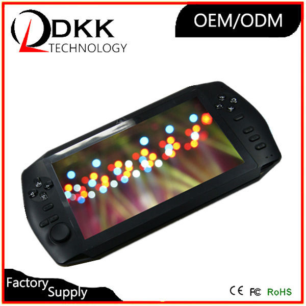 Cheap 7 inch screen android game console 8GB support wifi Video Music mp4 video game download adults game